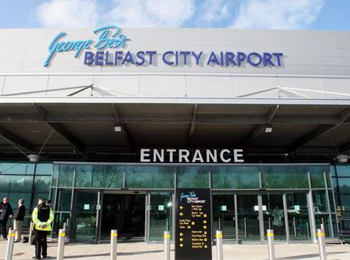 Airline apologizes to travelers for delays at Belfast City Airport